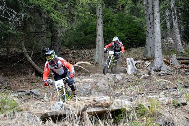 Foto auf MTB Downhill Nationalteam testet Schöckl Trail Area